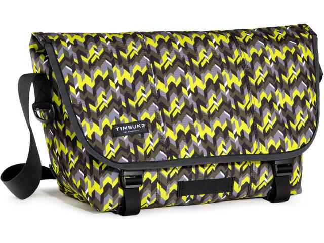 Timbuk2 Classic Messenger Print - Sac - M jaune/gris